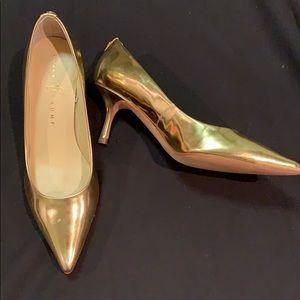 Ivanka Trump Gold Heels